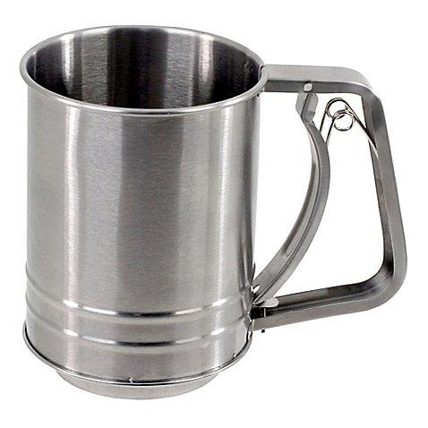 Salt 5-Cup Stainless Steel Flour Sifter