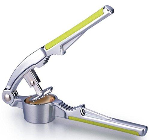 WOMUL Stainless Steel Garlic Press Nut Cracker Garlic Crusher Garlic Presser Garlic Chopper