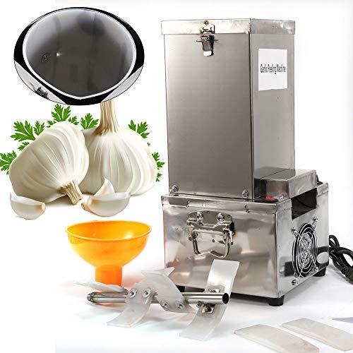 BoTaiDaHong 110V 150W 77LBH Dry Garlic Peeler HouseholdCommercial Electric Garlic Peeling Machine with Funnel