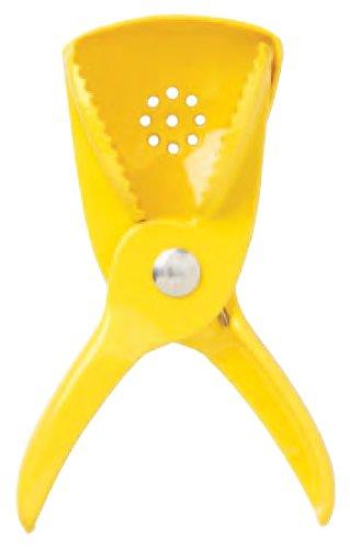 Heavy Duty Spring Loaded Sissor Style Enamel LemonLime Squeezer
