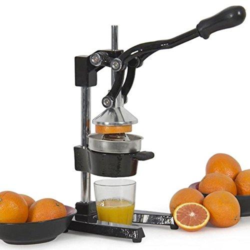 Hand Press Pro Commercial Manual Fruit Juicer Squeezer Citrus Orange Lemon pomegranate Fruit Juicer Black