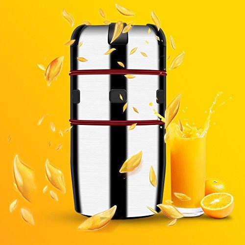 Household Stainless Steel Manual Juicer Juice Bottle Mini Hand Pressure Cup