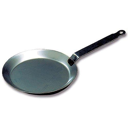 Matfer Bourgeat 062033 Round Crepe Pan, 8 5/8-inch, Gray