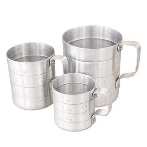 Browne M05 12 qt Aluminum Dry Measuring Cup