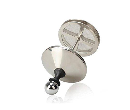 Niceeshop(tm) Stainless Steel Double Mesh Milk Frother Cappuccino Milk Creamer Coffee Foamer