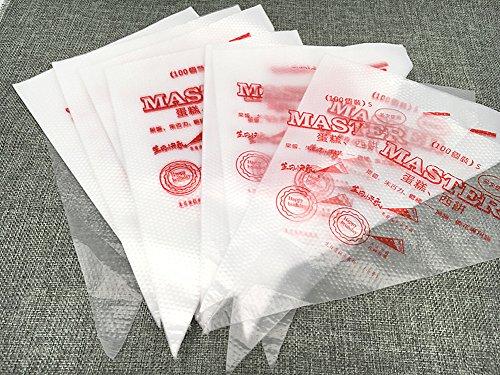 Kinteshun Reusable Pastry Bag PipingIcing bag for Cake Baking Modelling Tool100pcsSmall Size