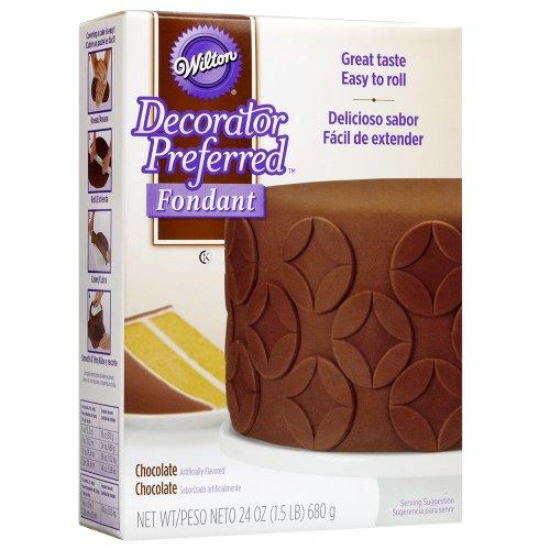 Wilton 710-2302 Decorator Preferred Fondant 24-Ounce Chocolate