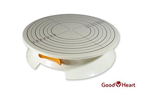 Goodheart Revolving Cake Decorating StandDisplay Professional Rotating Cake Turntable