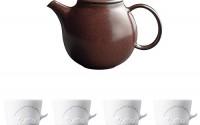 KINTO-PEBBLE-Brown-Porcelain-Teapot-and-Four-MUGTAIL-Hedgehog-Porcelain-Mug-Set-of-5-25.jpg