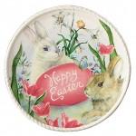 Burton-Happy-Easter-Bunny-Rabbit-Spring-8-25-Salad-Dessert-or-Decorative-Plate-Cream-Pink-4.jpg
