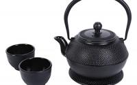 Juvale-Black-Cast-Iron-Tea-Kettle-Set-for-2-Contemporary-Dutch-Hobnail-Design-with-Trivet-Two-Cups-1200-mL-0.jpg