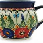 Polish-Pottery-Coffee-Mug-Bubble-16-oz-Spring-Splendor-UNIKAT-18.jpg